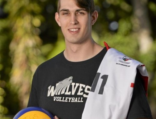 Old Boy living the Volleyball dream